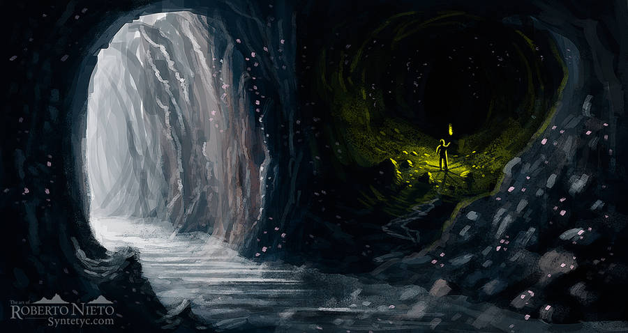 The great cave by Syntetyc