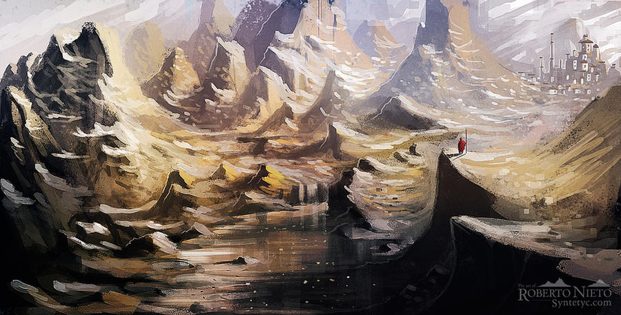 Himalayan - speedpaint by Syntetyc