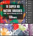 10 Super HD Nature Brushes (PS CS5, CS6)