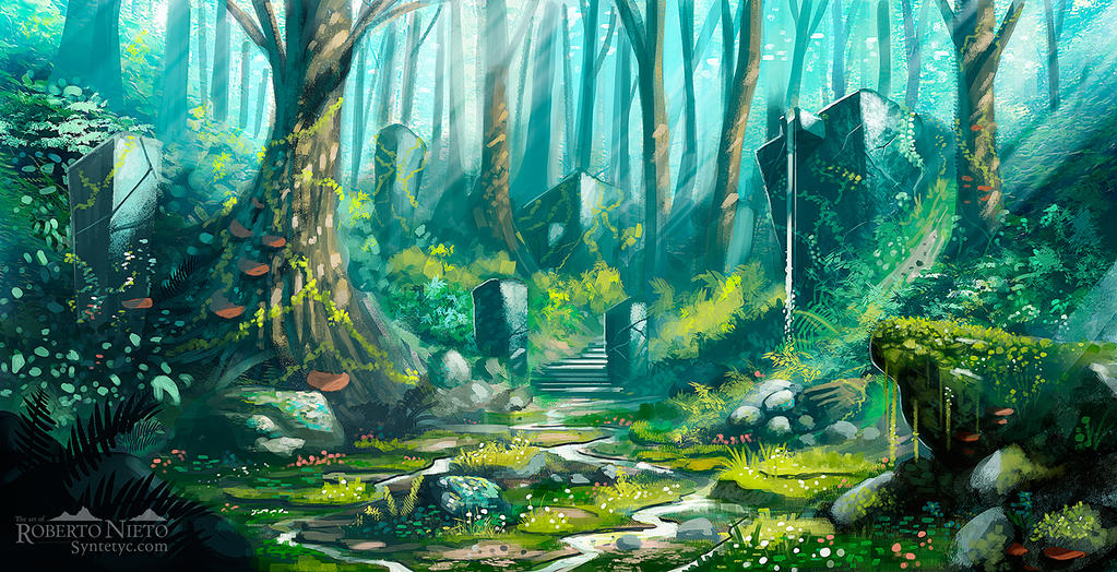 Forest_practice by Syntetyc
