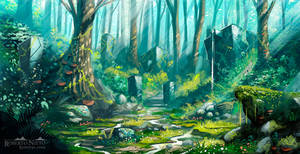 The colorful forest