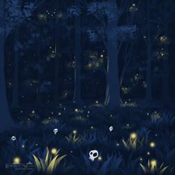 Kodamas forest
