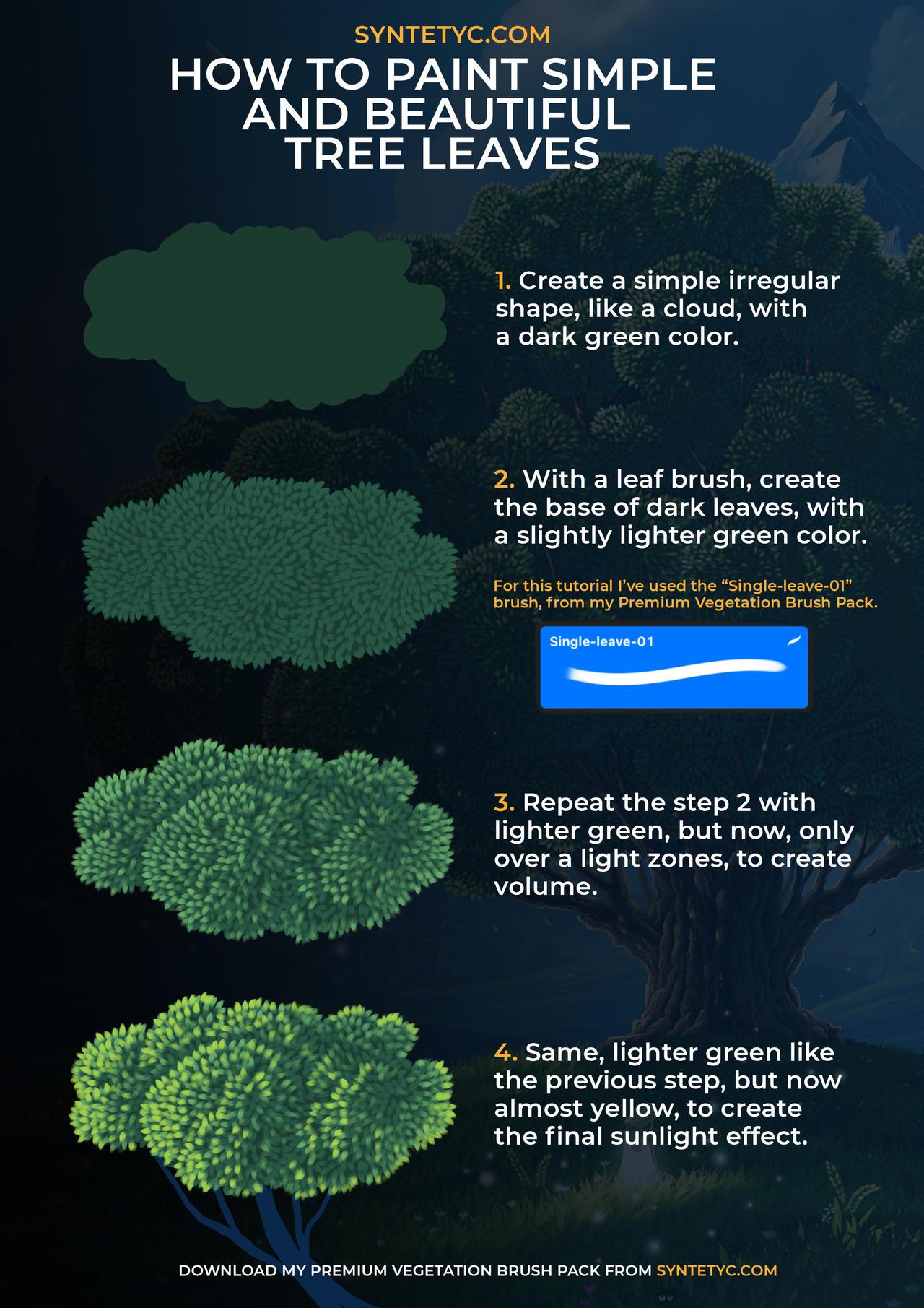 Tree Leaves Tutorial