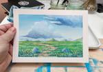 Gouache Landscape practice