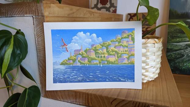 Porco Rosso - Gouache painting