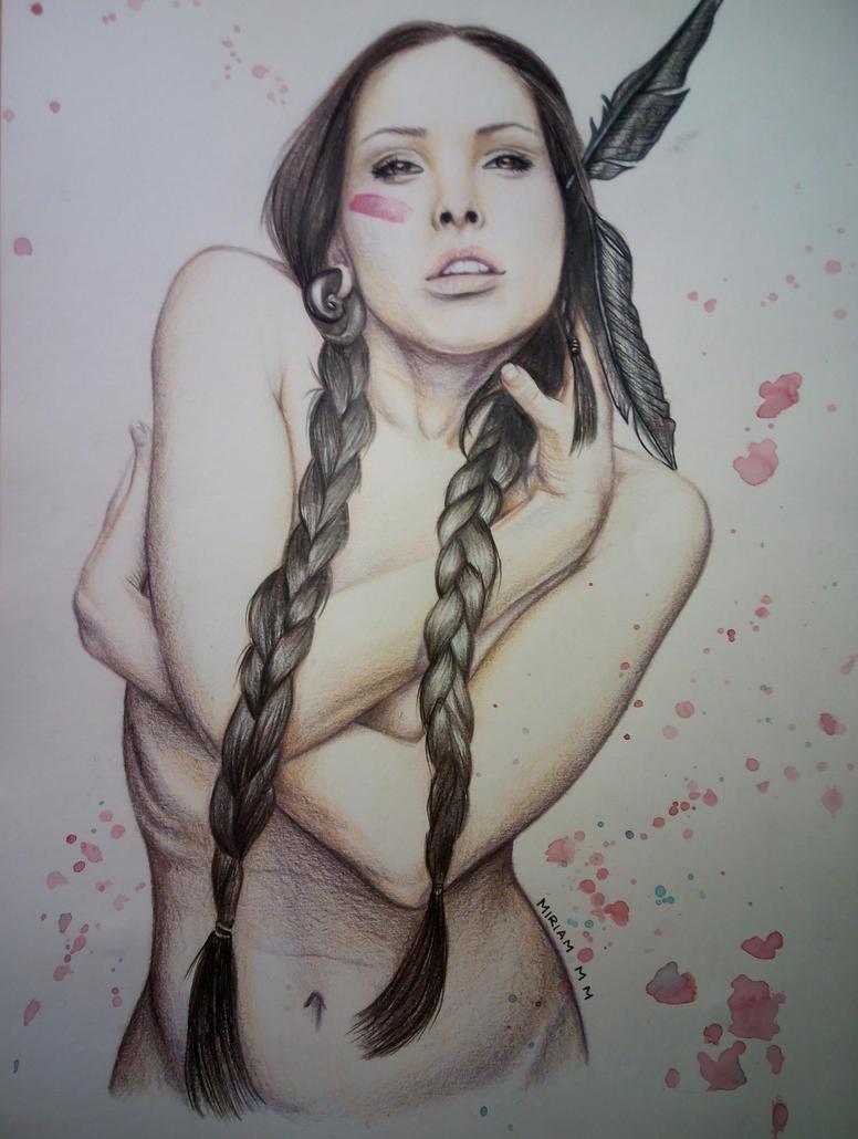 Pocahontas by Miriam-M-M
