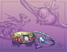 Rings for Aurelie by artistmage