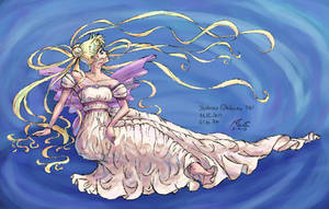 Princess Serenity - Ripples by artistmage
