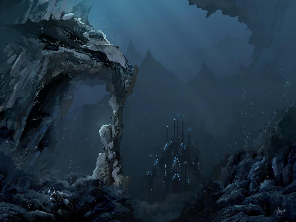 Atlantis by freelancerart