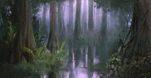 swamp by freelancerart
