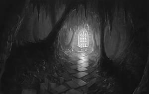 follow the light by freelancerart