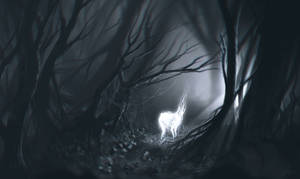 ghost of the forest by freelancerart