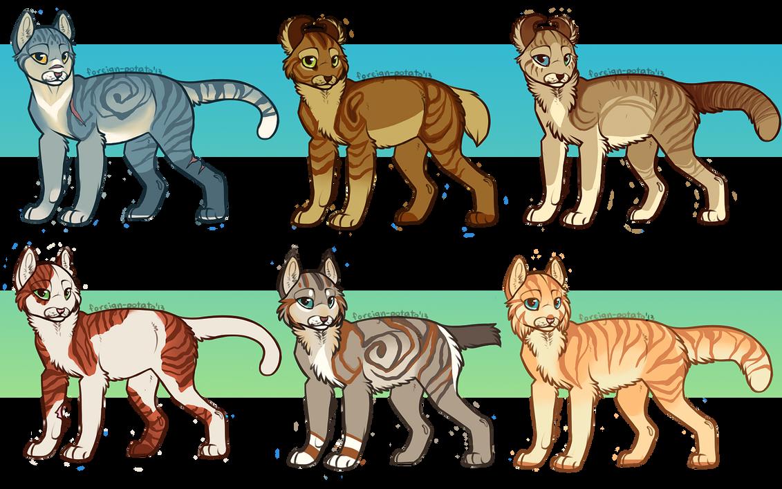 Warrior Cats Bases  Cats