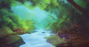 Warriors - Across the river by ClimbToTheStars