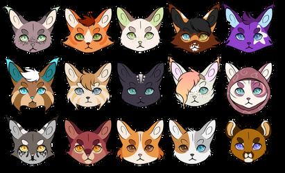 kitties by ClimbToTheStars
