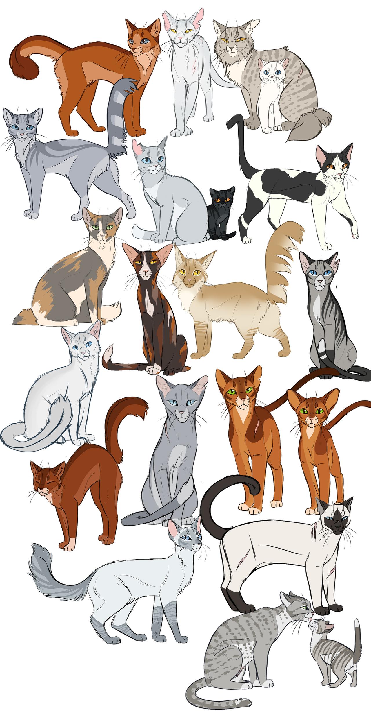 tumblr warrior cats by ClimbToTheStars on DeviantArt Warrior Cat Drawings
