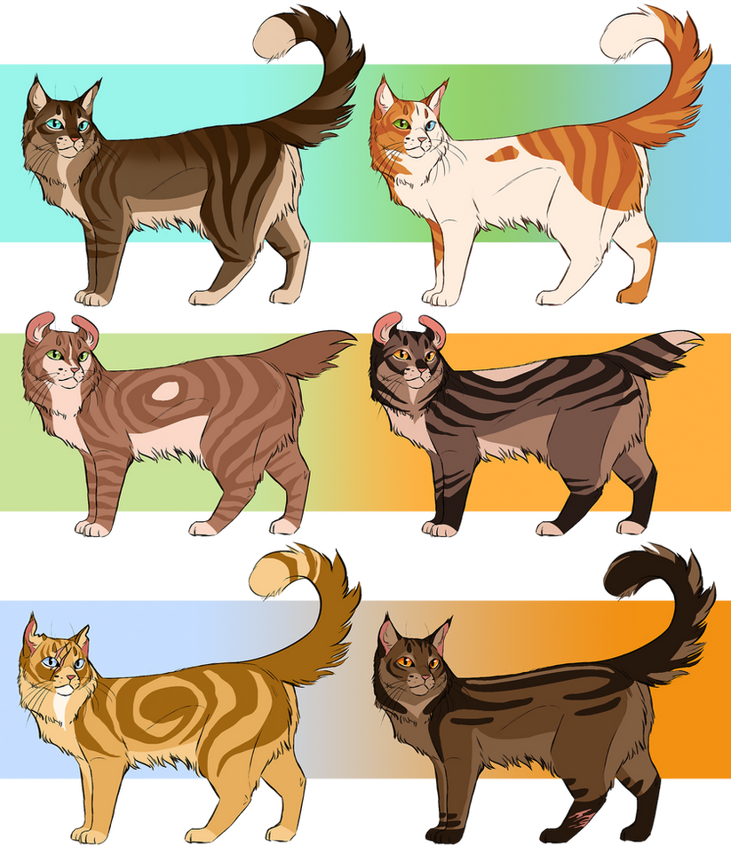 Warrior Cat Adoptables Closed By ClimbToTheStars On DeviantArt