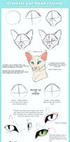 Oriental Cat Head tutorial