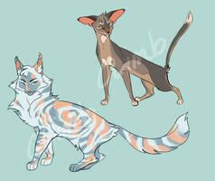 Cat Adoptables (closed) by ClimbToTheStars