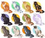 Warrior Cat Adoptables - closed