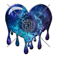 LiquidGalaxy dripping heart emote by DauntlexGFX