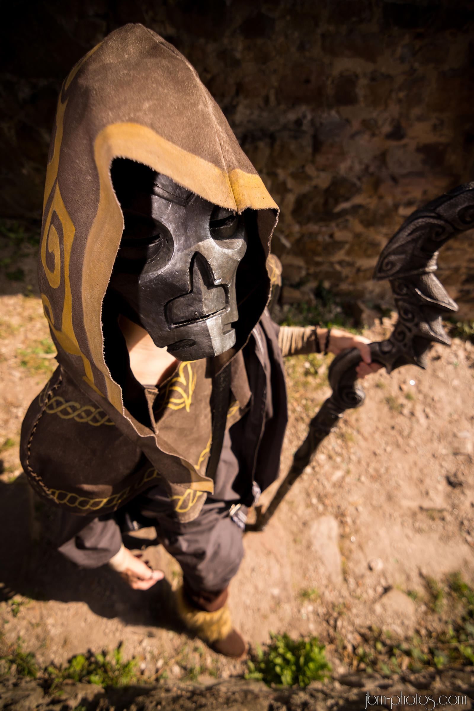Skyrim Cosplay - Dragon Priest by BlackOwlStudio on DeviantArt
