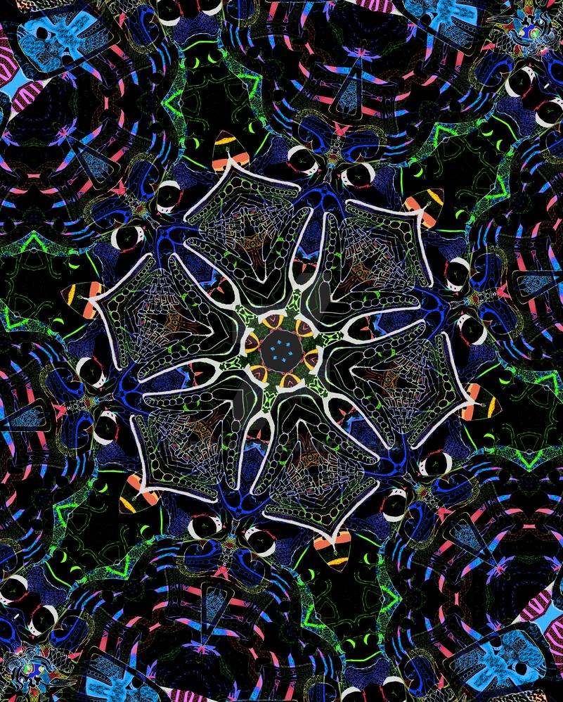 Bleudaptoatl Kaleidoscope