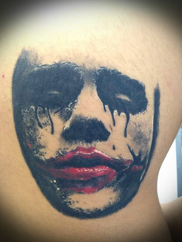My Crying Joker By Talentino On Deviantart