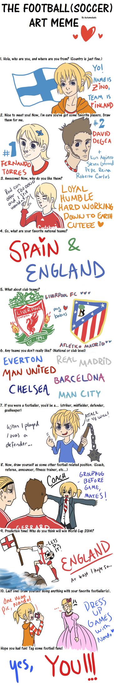 Football meme by Zinoman