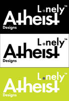 Lonely Atheist Design Logo by boozker