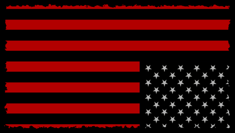 american flag background for word