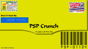 PSP Crunch - PSP Wallpaper by boozker