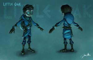 Final Little Oak Character Design by Kevin-Allen
