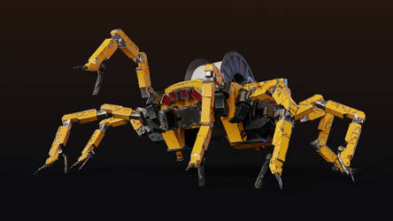 Mechanical Spider by thibsert