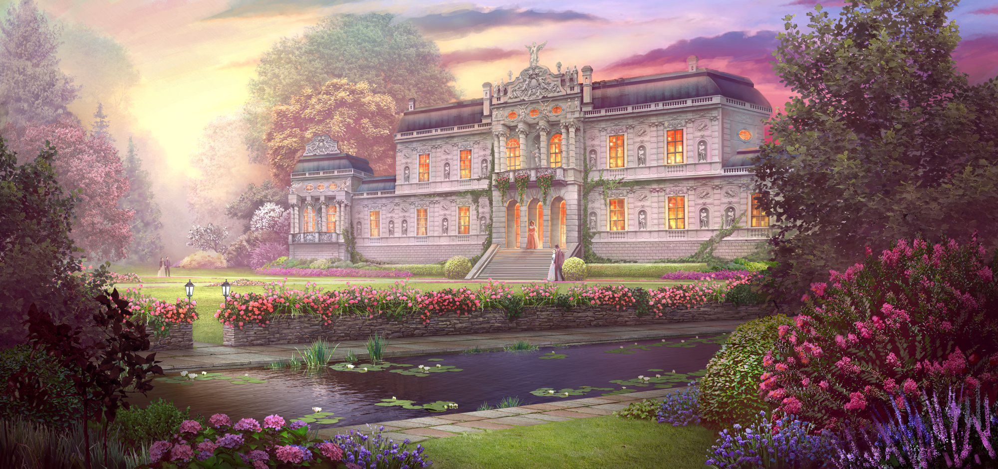 Rose Palace by Kaeriya