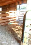 Horse stall stock