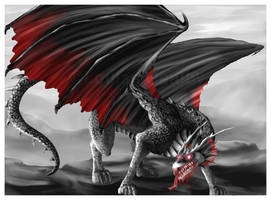 Vampire Dragon by FleetingEmber