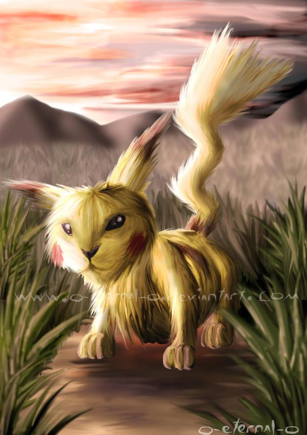 Pikachu by FleetingEmber