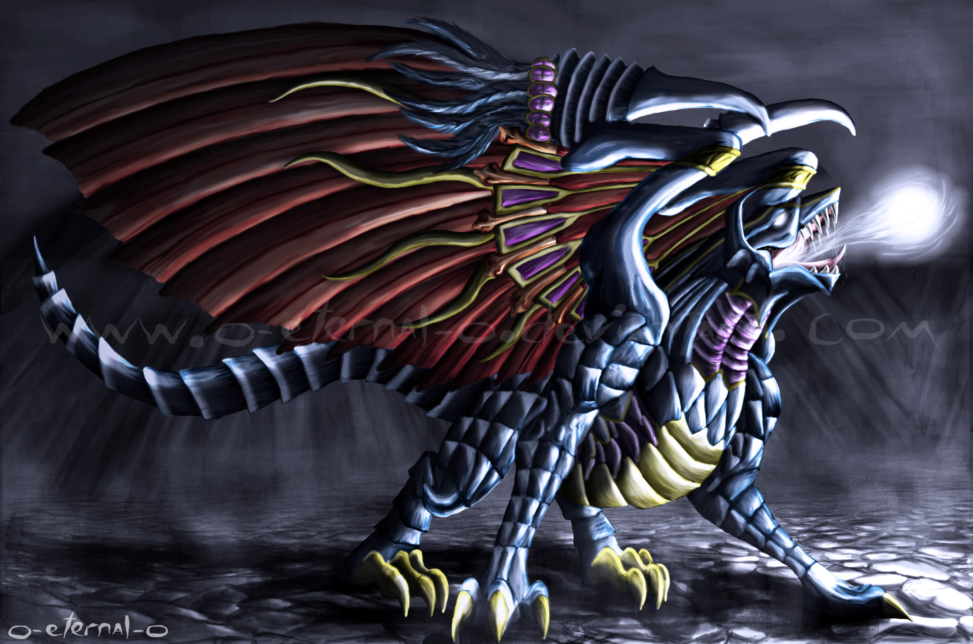 Rolea tu Imperio - Volumen IV: El último trabajo - Página 64 Bahamut_Dragon_King_by_o_eternal_o