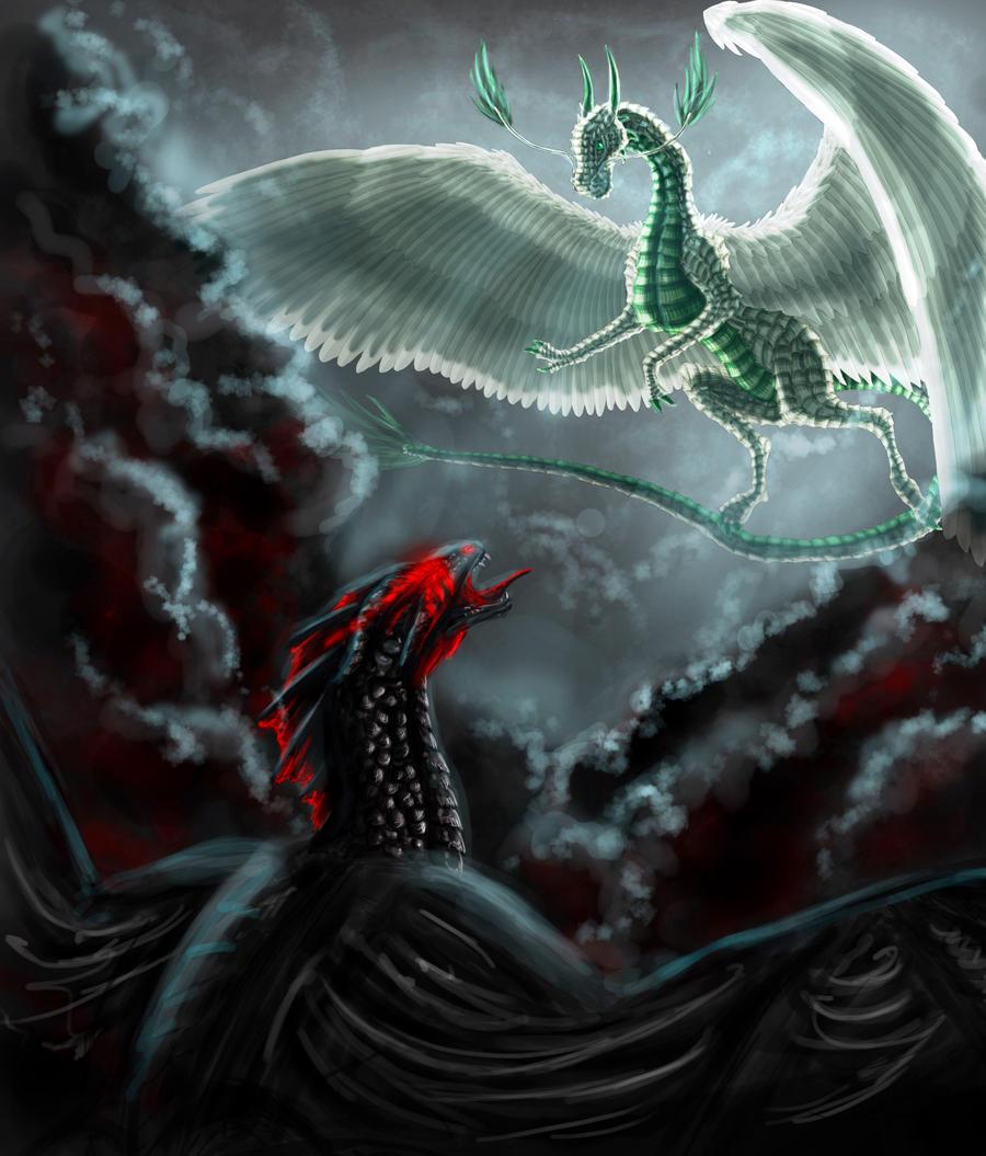 Collab: Zircon and Darkon by FleetingEmber