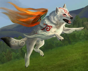 Okami by FleetingEmber