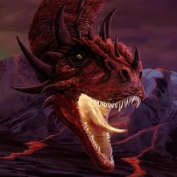 Fire Dragon by FleetingEmber