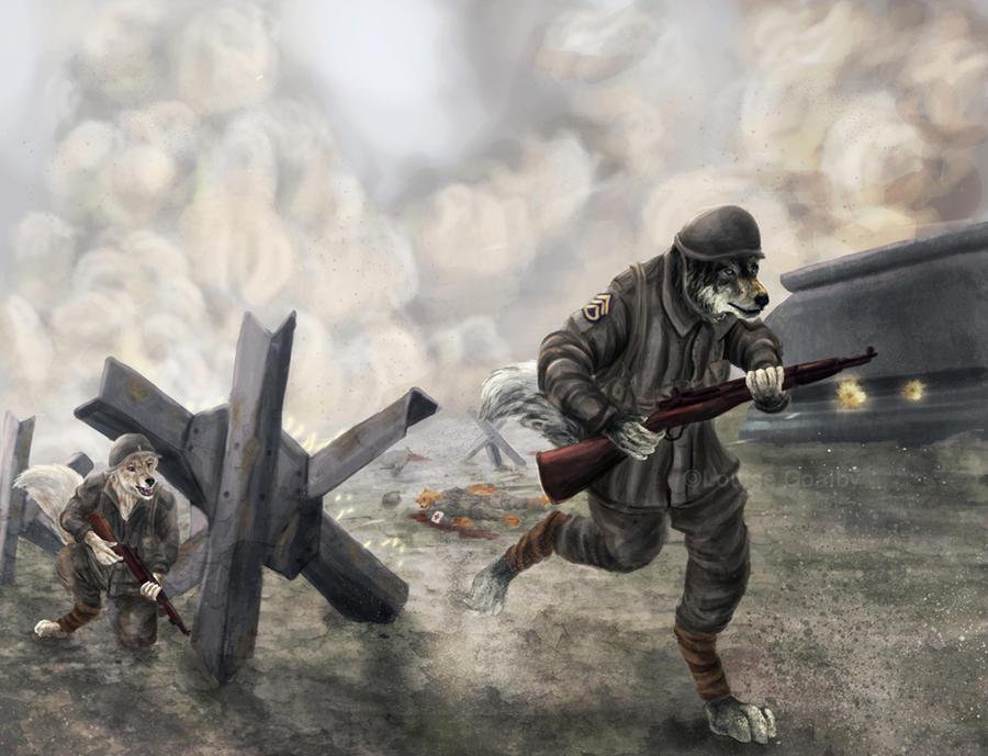 Dogs of War by FleetingEmber