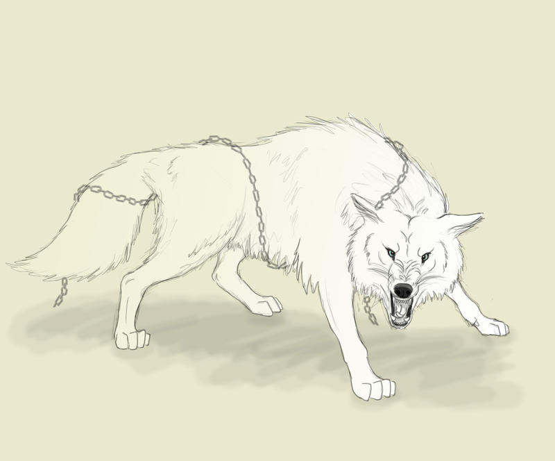 Angry Wolf by FleetingEmber