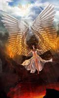 Demon Angel by FleetingEmber