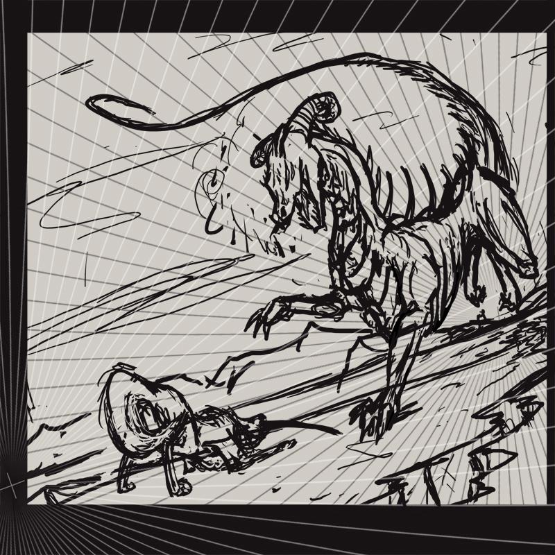 Clash: Sketch by FleetingEmber