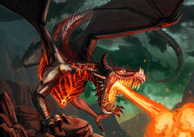 Scorch Dragon by FleetingEmber