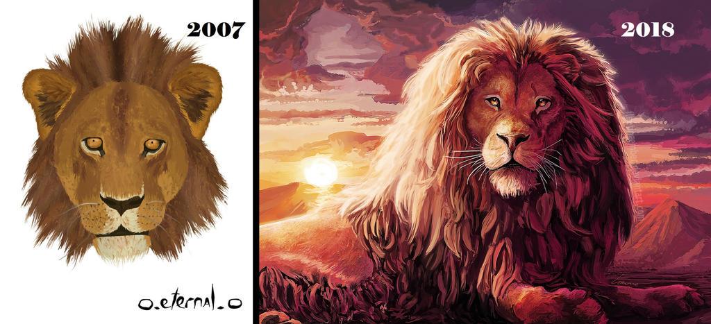 Painting Progress by FleetingEmber