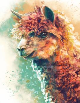 Alpaca by FleetingEmber