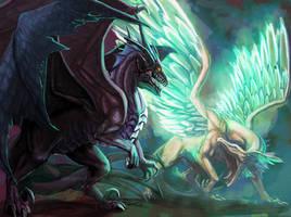 Elysium and Erebus by FleetingEmber